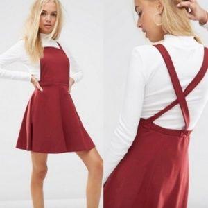 Super Cute ASOS Pinafore Dress